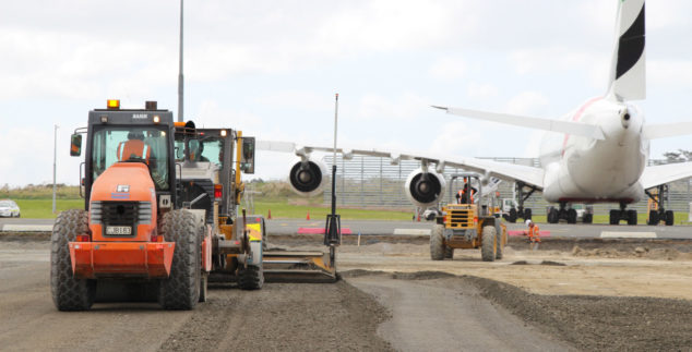 New Airside Hardstand Construction