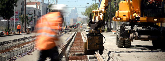 Melbourne Tram Track Renewal