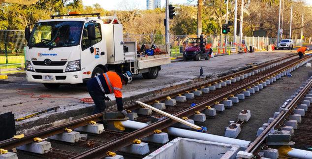 Toorak Road West Tram Extension