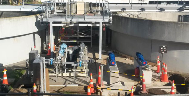 New Plymouth Wastewater Treatment Plant Upgrade