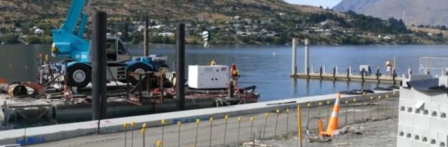 Work underway on Frankton marina