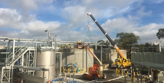 Wastewater – Mount Martha Sewer Treatment Plant (STP) Odour Control Facility