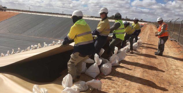 Water storage  – Olympic Dam Potable 60ML + 80ML Dams Upgrades