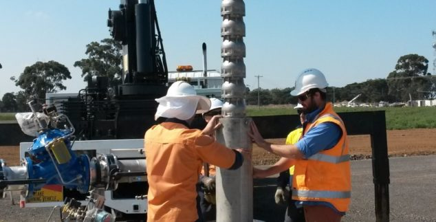 Water storage –  Werribee Aquifer Storage and Recovery Project