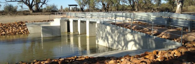 Wetlands/irrigation/floodways  – Katfish Reach Hydrological and Fish Passage Structures