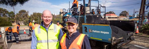 PlastiPhalt®: Plastic recycled into asphalt in Adelaide