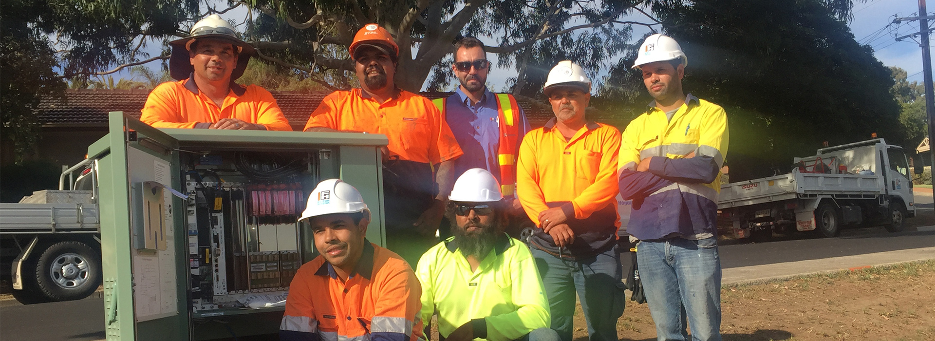 Fulton Hogan wins Indigenous Inclusion award at the nbn™ Supplier Awards 2019