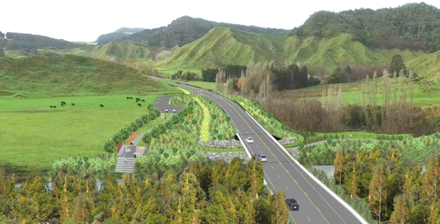 Awakino Tunnel bypass