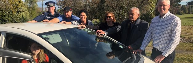 Hands-on commitment to driver safety in Christchurch