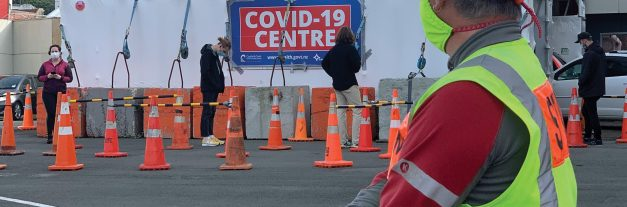 Wellington traffic management on Covid testing front line